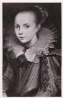 AS80 Art Postcard - Portrait De Fillette By De Vos - Paintings