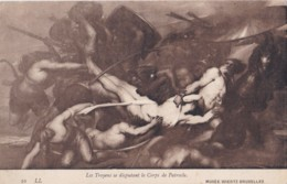 AS80 Art Postcard - Les Troyens Se Disputant Le Corps De Patrocle - Paintings
