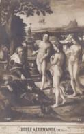 AS80 Art Postcard - Le Jugement De Paris, Ecole Allemande - Paintings