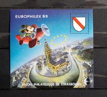 Feuillet CNEP N° 17  Europhilex 93 - CNEP