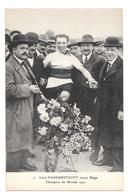 Cyclisme 7 Vanderstuyft Stayer Belge Champion Du Monde 1922 Non Circulée - Cyclisme