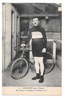 Cyclisme 11 Guignard Stayer Français Recordman Et Champion Du Monde 1913 Non Circulée - Cycling