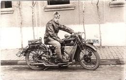 CARTE PHOTO  MOTO - Motorbikes