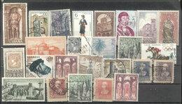 ESPAÑA -  26 ESTAMPILLAS  (#2112) - 1961-70 Usados