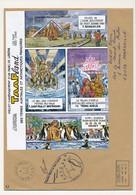 TAAF - Enveloppe Aménagement D'un Parc De Loisirs - Alfred Faure Crozet 1-6-2004 + Cachet Programme Aérotraces - Terres Australes Et Antarctiques Françaises (TAAF)