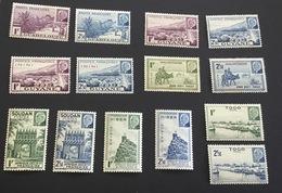 Colonies Série Pétain Neufs** - 1941 Série Maréchal Pétain