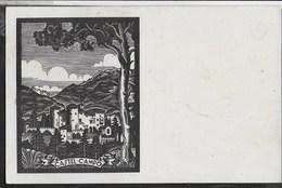 CASTEL CAMPO - STAMPA - FORMATO PICCOLO - VIAGGIATA 1923 - Castles