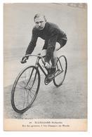 Cyclisme 26 Ellegaard Hollandais Roi Des Sprinters 6 Fois Champion Du Monde Non Circulée - Cyclisme