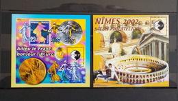 2 Feuillets CNEP N°35 Adieu Le Franc Et N°36  Nîmes 2002 - CNEP