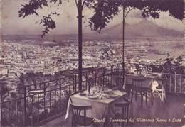 Napoli - Panorama Dal Ristorante Renzo E Lucia    - Viaggiata - Napoli