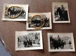 Bruges Procession Saint Sang 5 Photos Originale - Cartes Postales