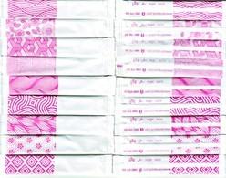 Sucre - 19 Sticks De Sucre Vides -  Darna Rose. (Voir 2 Scans) - Zucchero (bustine)