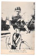 Cyclisme 43 F Pélissier Routier Français Champion De France Des 100 Km 1921 Non Circulée - Cyclisme