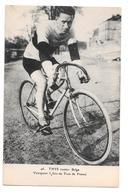 Cyclisme 46 Thys Routier Belge Vainqueur 3 Fois Du Tour De France Non Circulée - Cycling