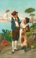 Costumi Siciliani ???, Riproduzione C89, Reproduction, Illustrazione - Costumi