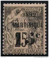 Martinique (1892) N 28 * (charniere) - Martinique (1886-1947)