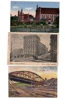 Wilna, Wilno, Vilnius, 3 Alte Postkarten, Feldpost 1. Weltkrieg - Litauen