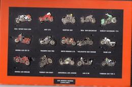 PIN'S LOT MOTO 15 Pin's LES ANNEES NOIRES (1945 1967) - Motos