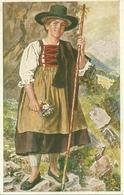 Costume Tirolese ???, Riproduzione C95, Reproduction, Illustrazione - Costumi