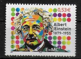 FRANCE   N° 3779  * *  Einstein Nobel Physique - Albert Einstein