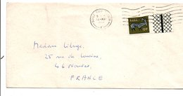 IRLANDE EIRE LETTRE POUR LA FRANCE 1973 - 1949-... Republic Of Ireland