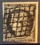 FRANCE - Canceled - YT 3, Mi 3 - 20c - 1849-1850 Cérès