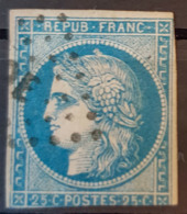 FRANCE - Canceled - YT 4, Mi 4 - 25c - 1849-1850 Cérès