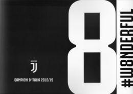 2018 / 2019  JUVENTUS  FOLDER 8° SCUDETTO CALCIO  FOOTBALL  BOLAFFI / SASSONE - 6. 1946-.. Repubblica