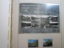 Faroe Islands 2003 , Facit 460 - 461 + Block 17 (Complete Sets) (FDC 3) - Féroé (Iles)