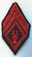 Infanterie - 21° R.I. - Tissu, Galon De Caporal - Armée De Terre
