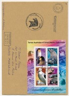 """TAAF - Enveloppe BF """"Animaux Jeunes Et Adultes""""- Dumont D'Urville T. Adelie 1-1-2002 + Cachet Amélie Lagarde - Terres Australes Et Antarctiques Françaises (TAAF)"""