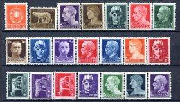 Z1548 ITALIA REGNO 1929-30 Imperiale, MNH**, Serie Completa, Valutazione Sassone € 115, Ottime Condizioni - Mint/hinged