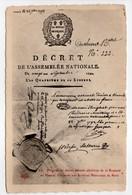 - CPA HISTOIRE - Original Du Décret Portant Abolition De La Royauté En France - Edition Le Deley N° 12 - - Histoire