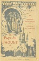 BRETAGNE - LE PAYS DU FAOUTET (Abbé Moren) - Chapelle Ste Barbe - Chapelle Saint-Fiacre - Histoire