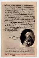 - CPA HISTOIRE - Serment De Louis XVI Jurant Fidélité à La Constitution - Edition Le Deley N° 14 - - Histoire