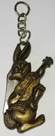 Key Chain, Porte-clés, Llavero / Lapin Avec Rasoir, Rabbit With Razor, Conejo Con Navaja - Schlüsselanhänger