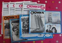 Lot De 8 Revues En Anglais. Crown . 1979 - Langue Anglaise/ Grammaire