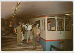 ISRAEL       TRAIN,ZUG,TREIN,TRENI,GARE,BAHNHOF,STATION STAZIONI  2 SCAN (NUOVA) - Treni