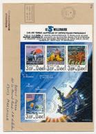 """TAAF - Enveloppe BF """"3eme Millénaire Sur Les TAAF""""- Dumont D'Urville T. Adelie 1-1-2000 - Terres Australes Et Antarctiques Françaises (TAAF)"""