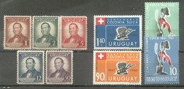 URUGUAY -  SERIES  (#2157) - Uruguay