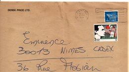 IRLANDE EIRE AFFRANCHISSEMENT COMPOSE SUR LETTRE POUR LA FRANCE 1979 - 1949-... Republic Of Ireland