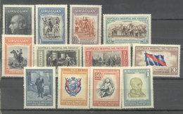 URUGUAY -  YVERT 604/15  (#2164) - Uruguay