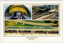 EMIRATI ARABI    DUBAI             TRAIN,ZUG,TREIN,TRENI,GARE,BAHNHOF,STATION STAZIONI  2 SCAN (NUOVA) - Treni