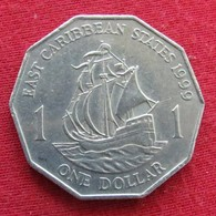 East Caribbean States 1 Dollar 1999 KM# 20  Caribbean Caraibas Caraibes Orientales - Caribe Oriental (Estados Del)