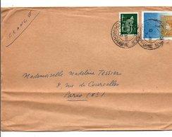 IRLANDE EIRE AFFRANCHISSEMENT COMPOSE SUR LETTRE POUR LA FRANCE 1976 - Covers & Documents