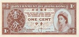 Hong Kong 1 Cent, P-325a - UNC - Sign. 1 - Hongkong