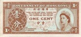 Hong Kong 1 Cent, P-325c - AUNC - Sign. 3 - Hong Kong