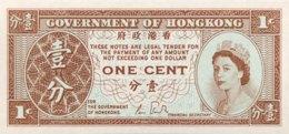 Hong Kong 1 Cent, P-325d - UNC - Sign. 4 - Hong Kong