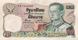 Thailand 20 Bath, P-88 (1981) - UNC - Sign. 72 - Thailand