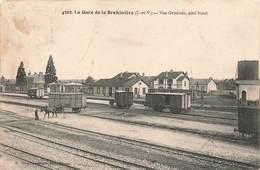 35 Lagare De La Brohiniere Vue Générale Coté Nord Cheval Tirant Wagon Cachet 1913 - Other Municipalities